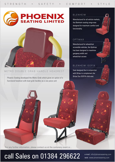 Phoenix Seating A4 Advert