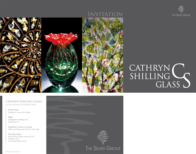 Cathryn Shilling Invitation Design