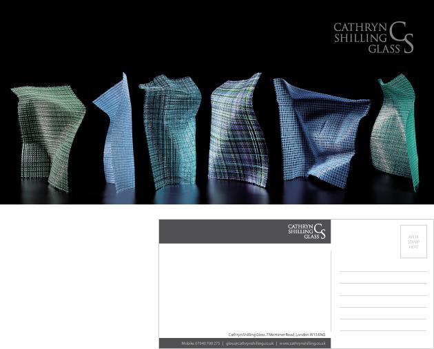 Cathryn Shilling Post Card Design