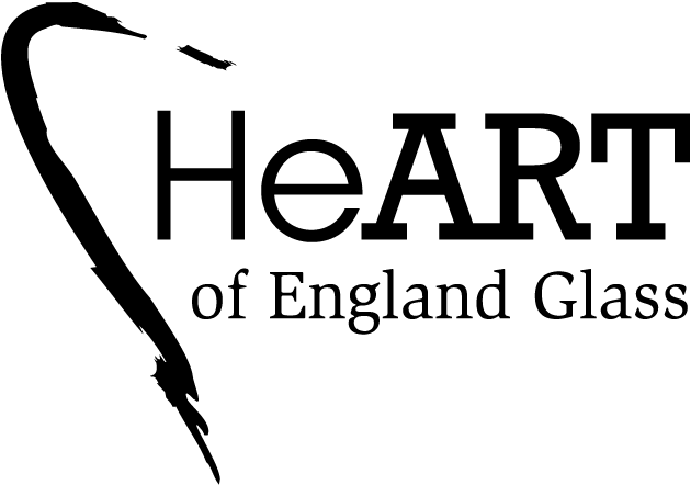 Logo design for Heart of England Glass