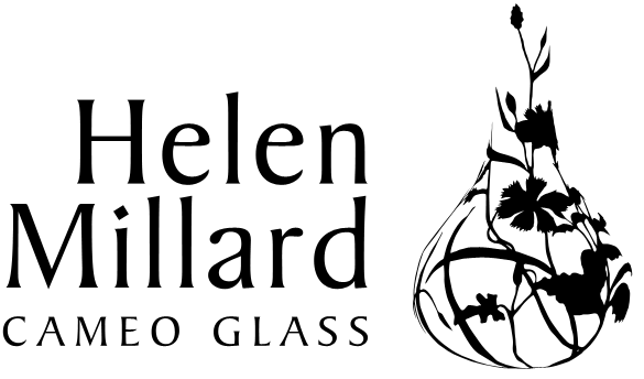 Helen Millard: Cameo Glass Logo