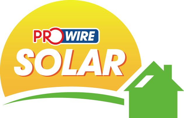 Logo design for Prowire Solar.