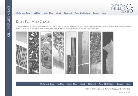 Kiln Formed Glass Page