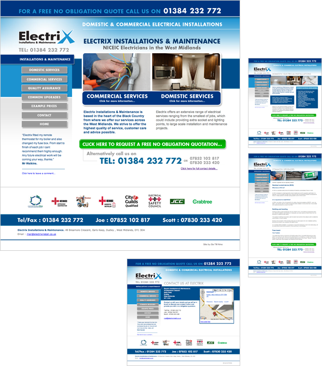 West Midlands Electricians: Electrix Installations