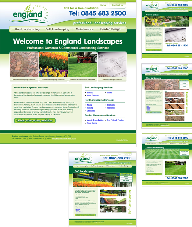 Landscaping & Garden Maintenance provider working throughout Wolverhampton