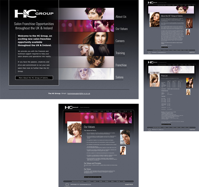 The HC Group Website