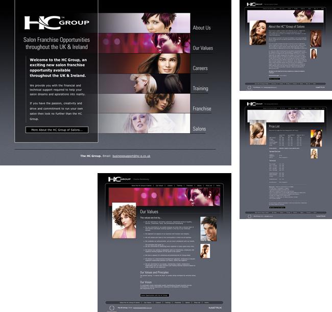 The HC Group Website