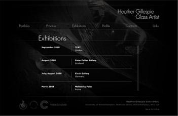 Heather Gillespie Exhibitions