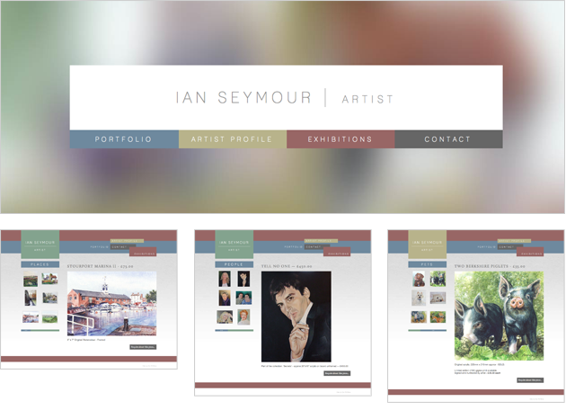 Ian Seymour Website Design