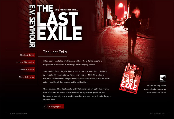The Last Exile Homepage