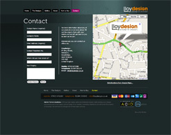 Lloydesign Contact Page