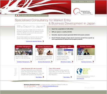 Marketing Standard Ltd Homepage