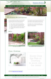 Patio Planting & Redevelopment Page