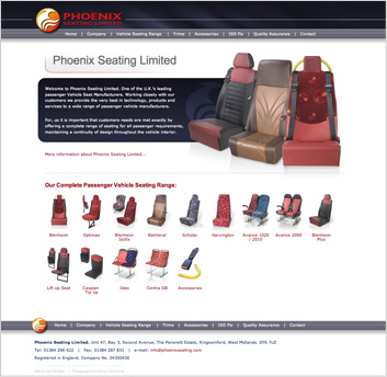 Phoenix Seating Homepage