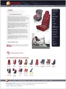 Phoenix Seating Isofix Page