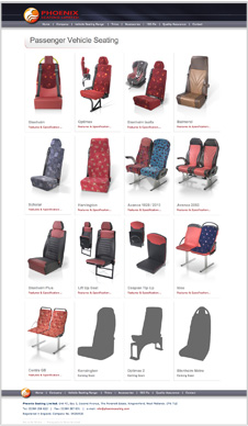 Phoenix Seating Seating Range