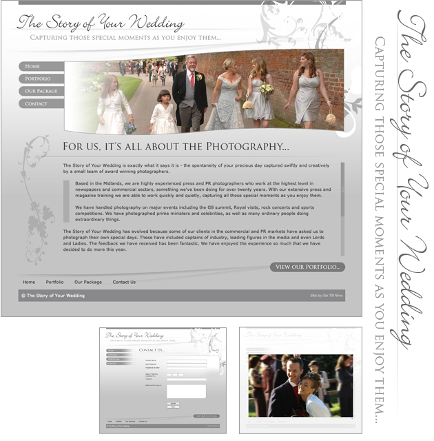 The Story of Your Wedding Website Design